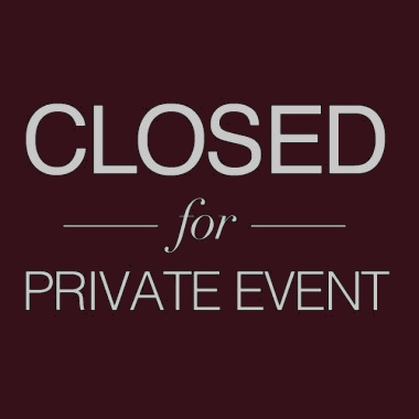 CLOSEDFORPRIVATEEVENT1
